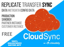CloudSync is now available on Salesforce AppExchange for free
