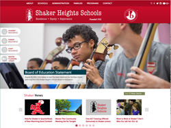 eSchoolView's Shaker Heights Website