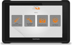 CALIDUS VEhub in TomTom telematics device
