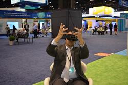 Hand gestures in VR