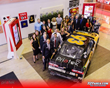 Priatek team with NASCAR Driver David Starr's  Number 93 Car at Launch Party