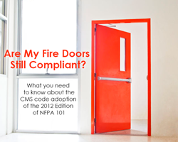 On November 1st fire door inspections change - Are you compliant?
