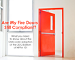 CMS Code Change: Fire Door Inspections to Change on November 1st