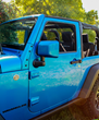 Jeep Wrangler JK painted mirror covers - Boomerang ColorPro Mirror Caps