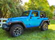 Boomerang ColorPro Side Mirror Caps - Jeep Wrangler - Hydro Blue