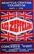 Avid Collector Announces His Search for Vintage 1970 Led Zeppelin Seattle Center Coliseum Concert Posters