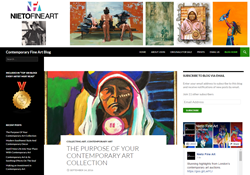 Image of Nieto Fine Art's Blog Site