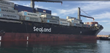 The SeaLand vessel Philadelphia coming in to the Port of Hueneme.