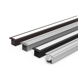 LED Extrusion capable of mounting Linear LED in multiple different heights