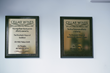 Plaques at Cellar Wines