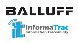 With Balluff RFID hardware and InformaTrac software solutions, customers can now have a fully integrated enterprise solution.