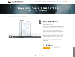 ProSlice Photo - FCPX Plugin - Pixel Film Studios