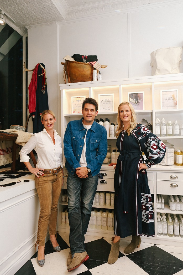 john mayer and the laundress new york collaborate to wash for a cause. Black Bedroom Furniture Sets. Home Design Ideas