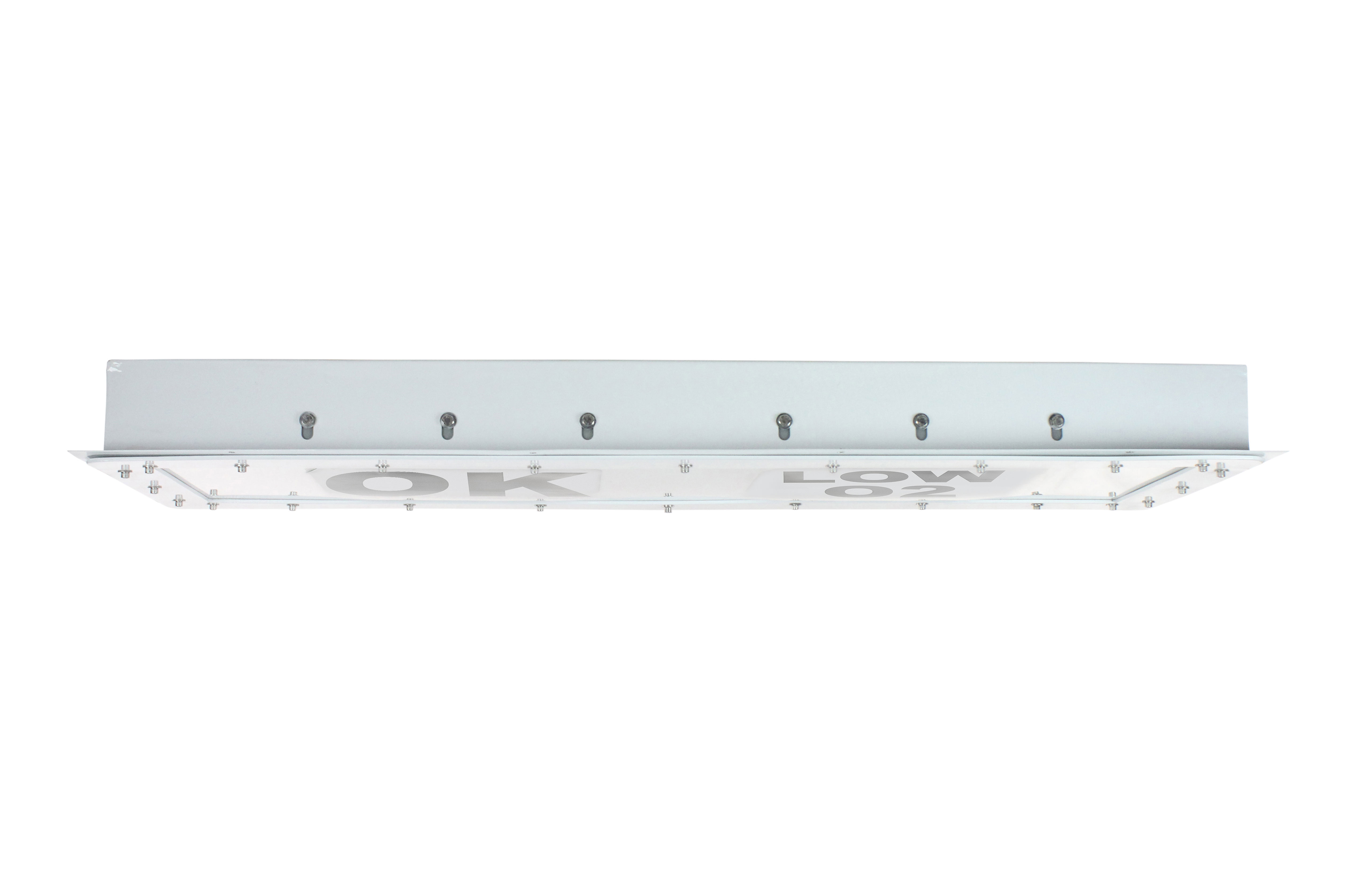 Larson electronics releases a dual color low profile led signal low profile clean room light designed to indicate conditions in a work areaexplosion proof indicator light equipped with two 150 watt high intensity led arubaitofo Gallery