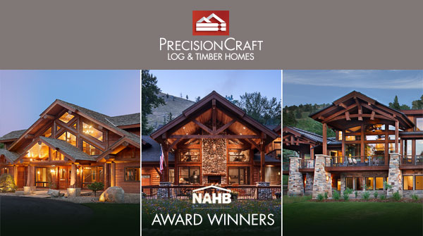 Precisioncraft Log Timber Homes Honored By Nahb