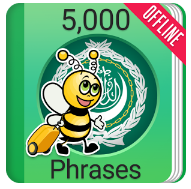 Learn Arabic 5000 Phrases