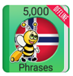 Learn Norwegian 5000 Phrases to Have a Bigger Database of Norwegian Phrases in Next Few Months