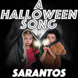 Sarantos song artwork A Halloween Song solo music artist Voice of Chicago new pop rock free release Spirit Of Children Charity