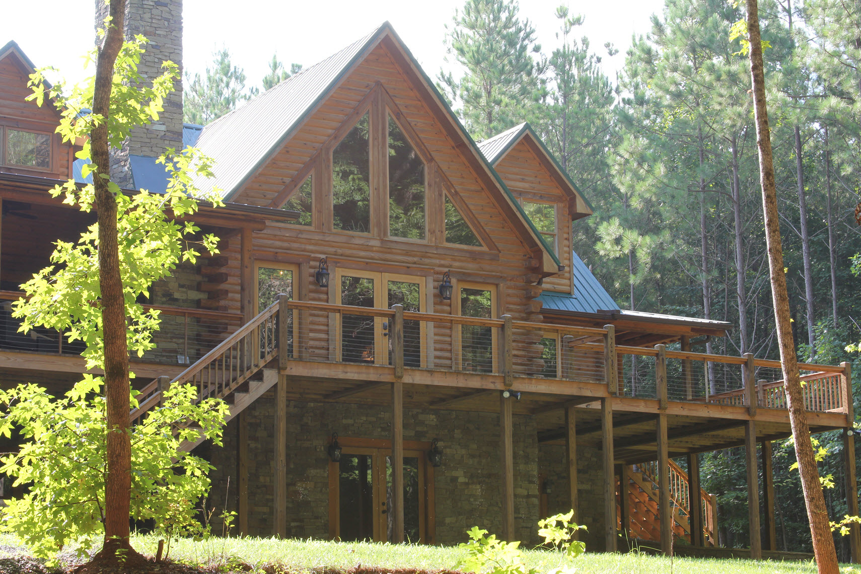 Southland log homes wins 2017 nahb design awards for Southland log homes