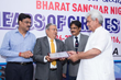 Mr. Rajiv Mehrotra (2nd from left), receiving award from Hon'ble Minister of Communications, India Mr. Manoj Sinha