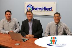 Diversified's Visual Huddle Team