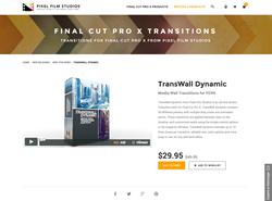 TransWall Dynamic - FCPX Plugin - Pixel Film Studios