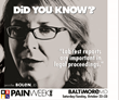 PAINWeekEnd in Maryland: Baltimore Hosts Pain Management CE/CME Conference for The Main Street Practitioner on October 22 and 23