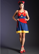 The New Marvel by Her Universe fashion collection celebrates some of the favorite female heroes from the Marvel universe with a stunning selection of dresses & jackets like this Captain Marvel dress.