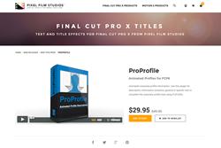 FCPX Plugin - ProProfile - Pixel Film Studios