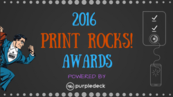 Print Rocks! Awards