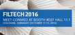 Conwed Shares Filtration Netting Technology at FILTECH 2016