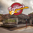 Topher's Rock 'N Roll Grill holds fund raising event with The Children's Center before Grand Opening