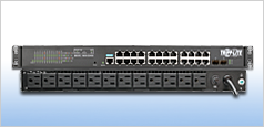 tripp lite managed ethernet switch pdu combo