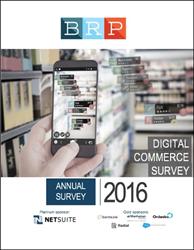 2016 Digital Commerce Survey