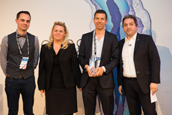 Decibel Insight collects the Standout Adobe Marketing Cloud Innovation Award at Adobe Summit EMEA last year