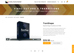 FCPX - TranShape - Pixel Film Studios Plugin
