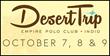 Brad Schmett Announces Excitement Mounts as Desert Trip Approaches