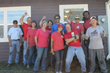 Milgard Volunteers Landscape Habitat Home and Welcome Family