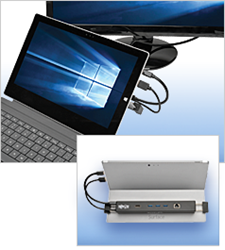 tripp lite docking station for microsoft surface and surface pro