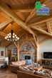 Kalamazoo Timber Frame Great Room