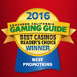 Soboba Casino Wins Best of SoCal Reader's Choice Awards