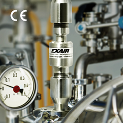 EXAIR's New Small Stainless Steel Threaded Line Vac