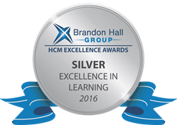 Brandon Hall Group Excellence in Learning Silver Award