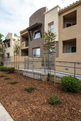 Ventaliso Apartment renovations include drought tolerant landscaping and fresh building paint
