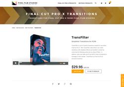 FCPX - TransFilter - Pixel Film Studios Plugin