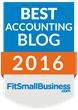 Accountex Report Recognized as one of the Best Accounting Blogs of 2016
