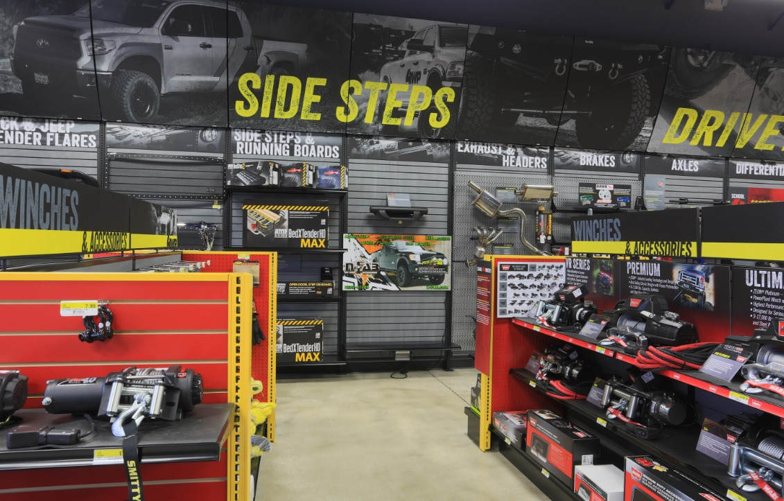 We offer the largest continually updated selection of Off Road Parts from the top manufacturers in the industry.