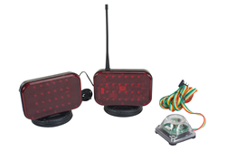Battery Operated LED Tow Light with 30' of Wireless Operating Range