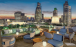 Roof terrace at The Montcalm Royal London House