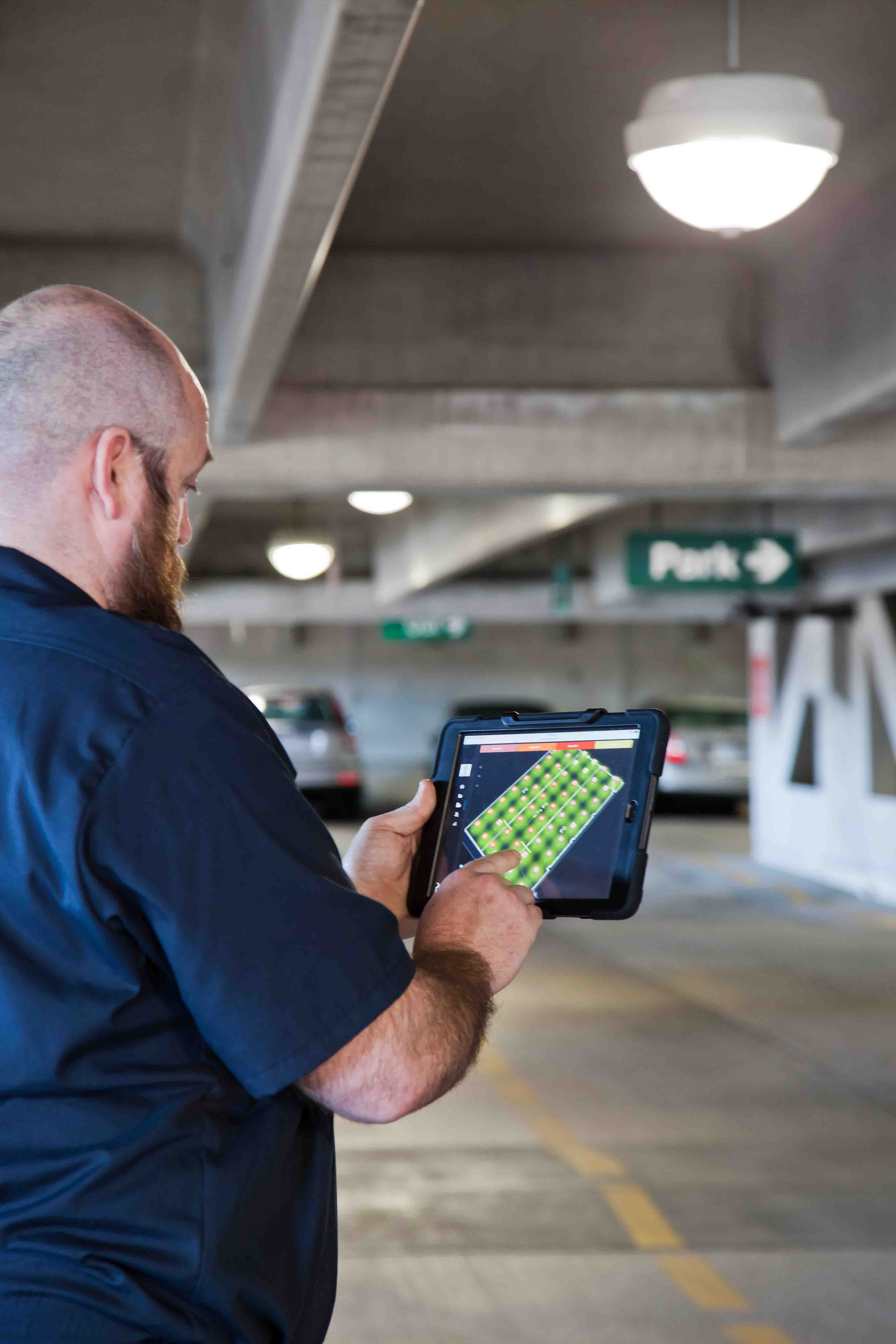 Kenall S Tekdek High Output Parking Luminaire Selected